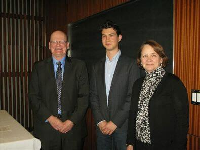 Pierrick Rouat, Law student from McGill University